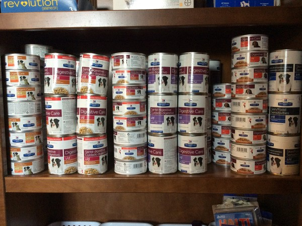 600 wet canned food